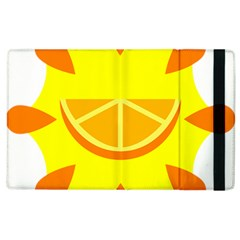 Citrus Cutie Request Orange Limes Yellow Apple Ipad 3/4 Flip Case