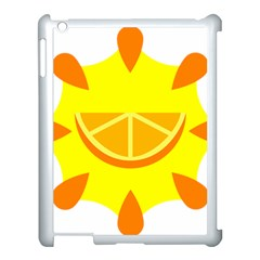 Citrus Cutie Request Orange Limes Yellow Apple Ipad 3/4 Case (white)