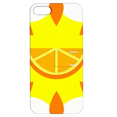 Citrus Cutie Request Orange Limes Yellow Apple Iphone 5 Hardshell Case With Stand by Alisyart