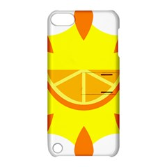 Citrus Cutie Request Orange Limes Yellow Apple Ipod Touch 5 Hardshell Case With Stand by Alisyart
