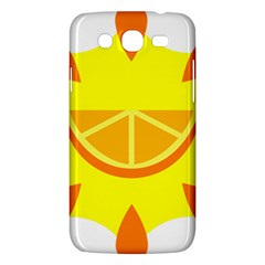 Citrus Cutie Request Orange Limes Yellow Samsung Galaxy Mega 5 8 I9152 Hardshell Case