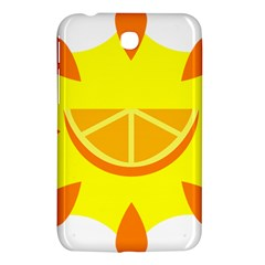 Citrus Cutie Request Orange Limes Yellow Samsung Galaxy Tab 3 (7 ) P3200 Hardshell Case  by Alisyart