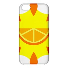 Citrus Cutie Request Orange Limes Yellow Apple Iphone 5c Hardshell Case by Alisyart