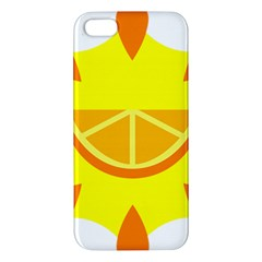 Citrus Cutie Request Orange Limes Yellow Iphone 5s/ Se Premium Hardshell Case by Alisyart