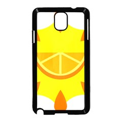 Citrus Cutie Request Orange Limes Yellow Samsung Galaxy Note 3 Neo Hardshell Case (black)