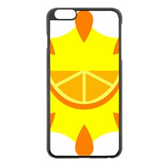 Citrus Cutie Request Orange Limes Yellow Apple Iphone 6 Plus/6s Plus Black Enamel Case by Alisyart