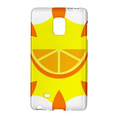 Citrus Cutie Request Orange Limes Yellow Galaxy Note Edge by Alisyart