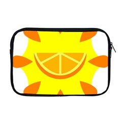 Citrus Cutie Request Orange Limes Yellow Apple Macbook Pro 17  Zipper Case