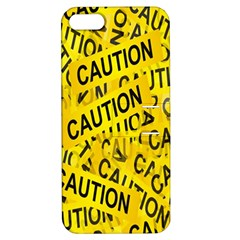 Caution Road Sign Cross Yellow Apple Iphone 5 Hardshell Case With Stand by Alisyart