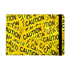 Caution Road Sign Cross Yellow Ipad Mini 2 Flip Cases by Alisyart