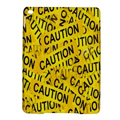 Caution Road Sign Cross Yellow Ipad Air 2 Hardshell Cases by Alisyart