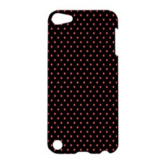 Colored Circle Red Black Apple Ipod Touch 5 Hardshell Case by Alisyart