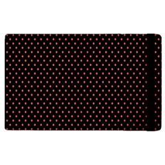 Colored Circle Red Black Apple Ipad 3/4 Flip Case by Alisyart
