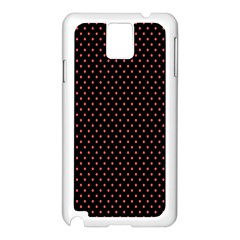 Colored Circle Red Black Samsung Galaxy Note 3 N9005 Case (white) by Alisyart