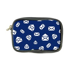 Envelope Letter Sand Blue White Masage Coin Purse