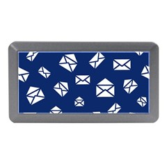 Envelope Letter Sand Blue White Masage Memory Card Reader (mini) by Alisyart