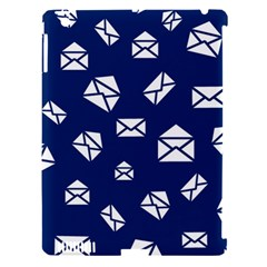 Envelope Letter Sand Blue White Masage Apple Ipad 3/4 Hardshell Case (compatible With Smart Cover) by Alisyart