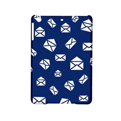 Envelope Letter Sand Blue White Masage Ipad Mini 2 Hardshell Cases by Alisyart