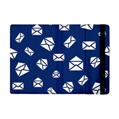 Envelope Letter Sand Blue White Masage Ipad Mini 2 Flip Cases by Alisyart