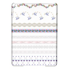 Bird Fly Butterfly Flower Floral Rose Blue Red Pink Ipad Air Hardshell Cases by Alisyart