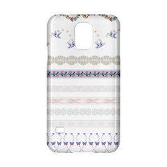 Bird Fly Butterfly Flower Floral Rose Blue Red Pink Samsung Galaxy S5 Hardshell Case  by Alisyart