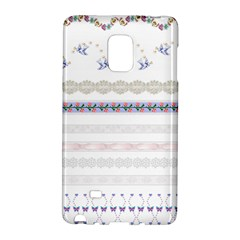 Bird Fly Butterfly Flower Floral Rose Blue Red Pink Galaxy Note Edge