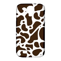Dalmantion Skin Cow Brown White Samsung Galaxy S4 Classic Hardshell Case (pc+silicone)
