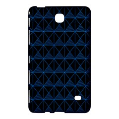 Colored Line Light Triangle Plaid Blue Black Samsung Galaxy Tab 4 (8 ) Hardshell Case  by Alisyart
