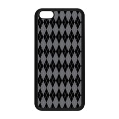 Chevron Wave Line Grey Black Triangle Apple Iphone 5c Seamless Case (black) by Alisyart