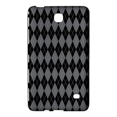 Chevron Wave Line Grey Black Triangle Samsung Galaxy Tab 4 (8 ) Hardshell Case  by Alisyart