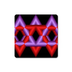 Star Of David Square Magnet