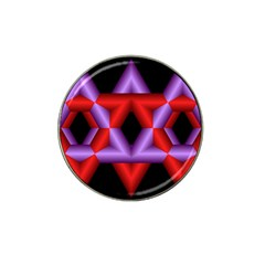 Star Of David Hat Clip Ball Marker (4 Pack) by Simbadda