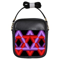 Star Of David Girls Sling Bags by Simbadda