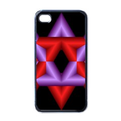 Star Of David Apple Iphone 4 Case (black) by Simbadda