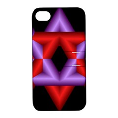 Star Of David Apple Iphone 4/4s Hardshell Case With Stand by Simbadda