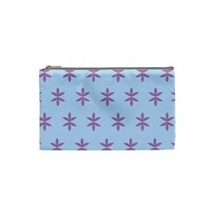 Flower Floral Different Colours Blue Purple Cosmetic Bag (small)  by Alisyart
