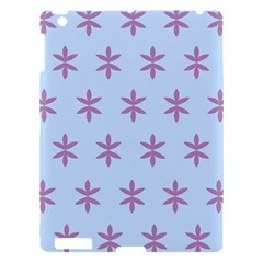 Flower Floral Different Colours Blue Purple Apple Ipad 3/4 Hardshell Case by Alisyart