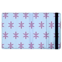 Flower Floral Different Colours Blue Purple Apple Ipad 2 Flip Case by Alisyart