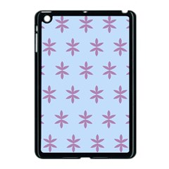Flower Floral Different Colours Blue Purple Apple Ipad Mini Case (black) by Alisyart