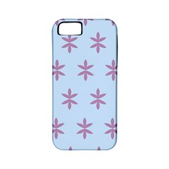 Flower Floral Different Colours Blue Purple Apple Iphone 5 Classic Hardshell Case (pc+silicone) by Alisyart