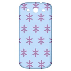 Flower Floral Different Colours Blue Purple Samsung Galaxy S3 S Iii Classic Hardshell Back Case by Alisyart