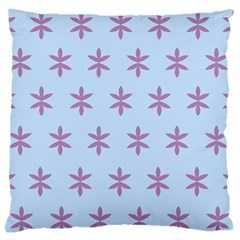 Flower Floral Different Colours Blue Purple Standard Flano Cushion Case (one Side) by Alisyart