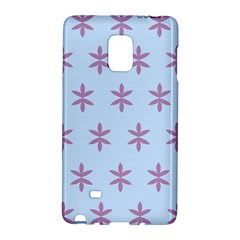 Flower Floral Different Colours Blue Purple Galaxy Note Edge by Alisyart