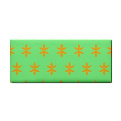 Flower Floral Different Colours Green Orange Cosmetic Storage Cases by Alisyart