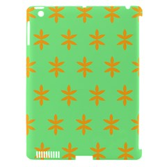 Flower Floral Different Colours Green Orange Apple Ipad 3/4 Hardshell Case (compatible With Smart Cover) by Alisyart