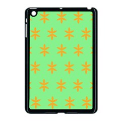 Flower Floral Different Colours Green Orange Apple Ipad Mini Case (black) by Alisyart