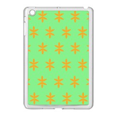 Flower Floral Different Colours Green Orange Apple Ipad Mini Case (white)