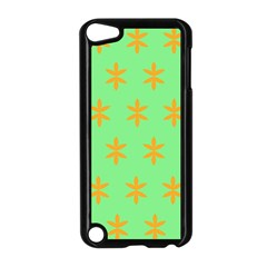 Flower Floral Different Colours Green Orange Apple Ipod Touch 5 Case (black) by Alisyart