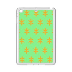 Flower Floral Different Colours Green Orange Ipad Mini 2 Enamel Coated Cases