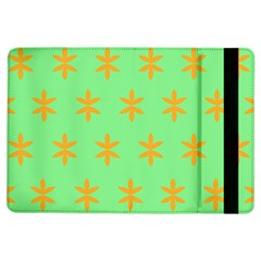Flower Floral Different Colours Green Orange Ipad Air Flip by Alisyart